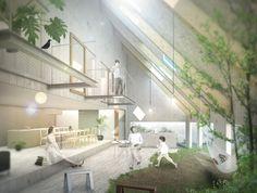 suppose design office 『安城の家』 http://www.kenchikukenken.co.jp/works/1042811417/2446/