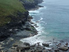 Cornwall North coast.  We took this at a campsite we was staying at in Tintagel.