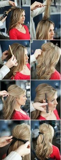 motivational trends: loose waterfall braid.