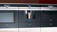 Siemens compacte espresso volautomaat in de iQ700 lijn.