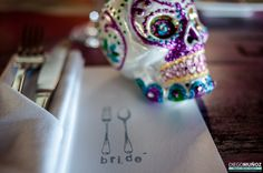 wedding mexican decor! place card for the bride at El Pez Tulum Hotel in Mexico by Diego muñoz Photography #tulumwedding #mexicanwedding