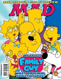 MAD Family Guy/the Simpsons