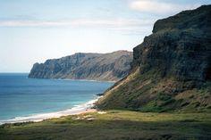Niihau cliffs, Hawaii