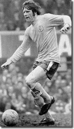 March Eddie Gray in action against Derby County, at the Baseball Ground The Damned United, Jeff Lewis, Leeds United Fc, Derby County, Football Boots, Soccer Players, The Unit, Seasons, Memories