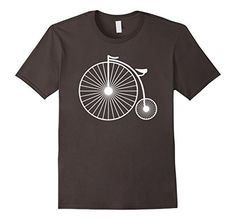 daa261ffc4c Men s Penny Farthing Vintage Bicycle Fun T-Shirt For Cycl... https