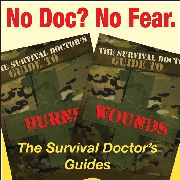 The Survival Doctor's Guides to Burns and Wounds, by @James Barnes Hubbard