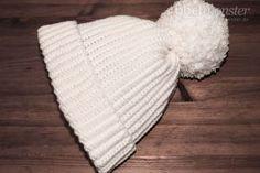 Einfache Mütze häkeln ohne Zunahmen & Abnahmen