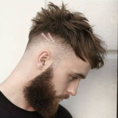 Hairstyles Hair Ideas, Cut And Colour Inspiration - Mens Haircuts Short Hair, Cool Hairstyles For Men, Classic Hairstyles, Creative Hairstyles, Hairstyles Haircuts, Hair And Beard Styles, Short Hair Styles, Guys Grooming, Short Textured Hair