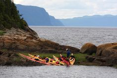 Kayaking the Saguenay Fjord (Photo credit: Charles David Robitaille) | Places to Visit in Canada: The Saguenay-Lac Saint Jean Area, QC