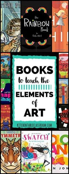 Children's lit is my go-to move for introducing ideas to my kids; be it an a… Children's lit is my go-to move for introducing ideas to my kids; be it an art movement or a science concept. Books about art elements are no exception! Art Books For Kids, Art For Kids, Art Lessons For Kids, Art Children, Kids Fun, Classe D'art, Ecole Art, Art Curriculum, Art Lessons Elementary