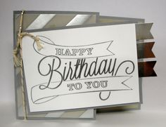 Did in Gold very pretty----Stampin' Up!- 'Another Great Year'