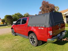 Canvas canopy with strong aluminium framework. Made to order and Shipped Aust wide for Colorado dual cab wellbody utes. Ute Canopy, Canopy Frame, Canvas Canopy, Ute Trays, Holden Colorado, Pvc Windows, Car Upholstery, Roof Top Tent, Electrical Components