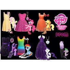 Pony prom dresses