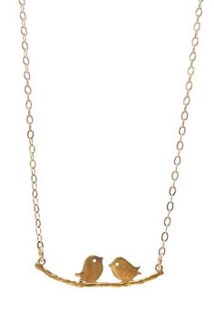 Colorful Charms by Jami Rodriguez  Love Birds Necklace