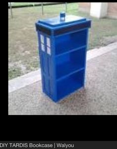 Tardis Book Case
