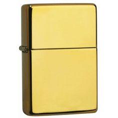 Mechero Zippo 195 Solid Brass 18 kt (oro macizo).