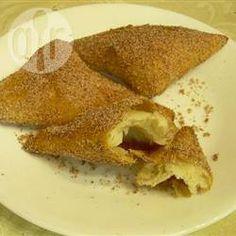 Foto da receita: Sopapillas (doce frito mexicano)