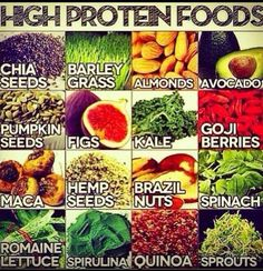 High protein non-meats. I hate when people give me crap about not getting enough protein because I rarely eat meat.