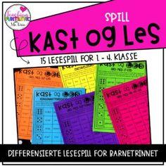 Kast & Les Spill - Teaching Funtastic Charts, Periodic Table, Teaching, Education, Tobias, 2nd Grades, Grammar, Reading, Graphics