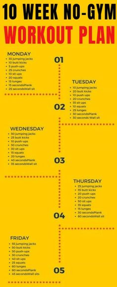 10 Week NoGym Home Workout Plan That Is Guaranteed To Burn Fat🍑💪 #Gymshar...  #exercises #home #homeexercises 10 Week No Gym Workout, Workout Plan For Men, Workout Plans, Fat Workout, Gym Plans, Workout Ideas, Diet Plans, Workout Men, Tummy Workout
