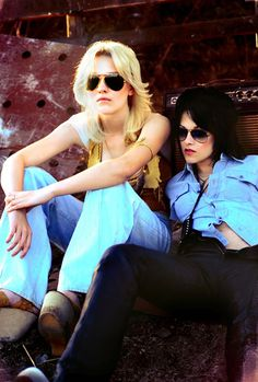 The Runaways.  *i loved this movie so much that the first time i watched it, i watched it again immediately. The music is so good and it's just INSANE.*