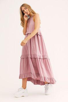 H&M Conscious Exclusive Silk Blend Long Casual Maxi Dress Size 4 (S)