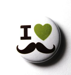 I love my husbands mustache... And the rest of his facial hair for that matter! Beard, goatee, and mustache, yes please!!!