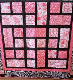 Pink Zebras Quilt
