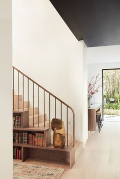 Pierre Jeanneret, Glass Conservatory, Interior Architecture, Interior Design, Grand Staircase, Stairs, Storey Homes, Study Areas, Wooden Dining Tables
