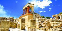 Palast von Knossos auf Kreta, Griechenland