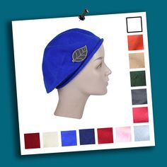 3367f0736547d Check out this beret with the new appliques! Available on many colors! http