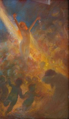 Gaston La Touche - this peice of work is absolute perfection