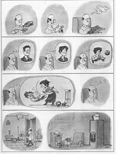Everything & Nothing: Quino - Bien gracias, ¿y usted? (Well Thank You, and You? Memes Super Graciosos, H Comic, Mad Magazine, Everything And Nothing, Humor Grafico, France, Vignettes, Illusions, Funny
