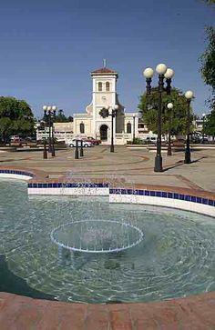 Hatillo,  Puerto Rico plaza.  Exactly where I grew up as a child!