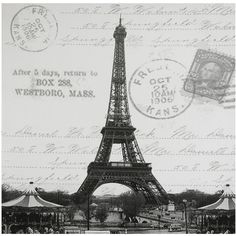 Classic Eiffel Tower Canvas Wall Art ($19) ❤ liked on Polyvore featuring home, home decor, wall art, backgrounds, pictures, paris, art, photos, borders and picture frame
