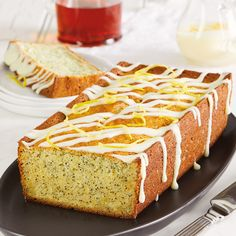 Excellent with tea, our recipe for Citrus Poppy Seed Cake with Orange Cream Cheese Frosting makes any occasion special.
