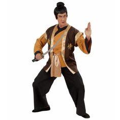 Disfraz de guerrero samurái para hombre