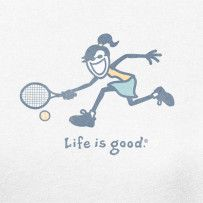 Reach for it. #Lifeisgood #Optimism #Tennis