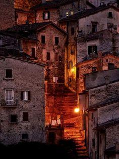 Scanno, Abruzzo, Italy #visitingitaly #VisitingItaly