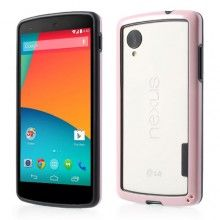Bumper Nexus 5 Ultra-slim Backless - Rosa  € 6,99