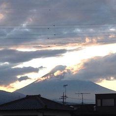 Mt.Fuji 富士山 世界遺産 http://instagram.com/p/a23BVMhvIx/
