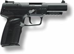 Fn Five Seven, Survival Life Hacks, You Magazine, Weapon Of Mass Destruction, Shotgun, Firearms, Hand Guns, Weapons, Pistols