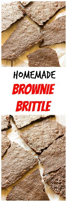 If you've never tried Brownie Brittle before, you're missing out. Crunchy brownie pieces are a great snack for your sweet tooth.