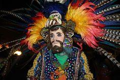 Detalle de danzante de Ocotoxco Tlaxcala