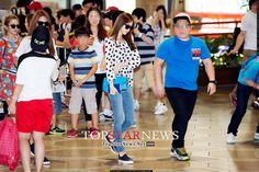 SNSD Yoona Hyoyeon Sooyoung airport fashion July 2014
