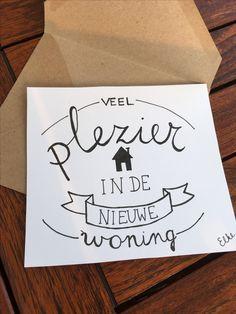#verhuis #newhome #moving #handlettering #handletteren #housewarming