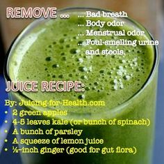 Juice for stinky folks. (Friendly hint...)