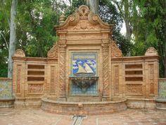 Parque Maria Luisa: Glorieta de los HERMANOS ÁLVAREZ QUINTERO - Parque...