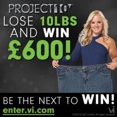 Join Project 10 now and be one of the winners now! http://losetentowin.com/