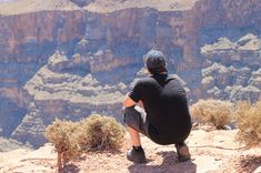 The Grand Canyon is a great place to reflect. On the edge of the world, overlooking the awesomeness of nature, it's hard not to contemplate the wonder of this place. Grand Canyon Helicopter, Helicopter Tour, Great Places, Tours, Sky, World, Nature, Travel, Heaven